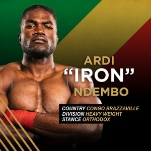 """Iron"" Ardi Ndembo"