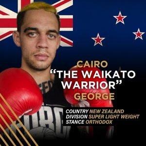 """The Waikato Warrior"" Cairo George"