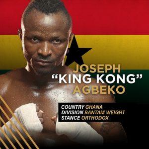 """""""King Kong"""" Joseph Agbeko"""