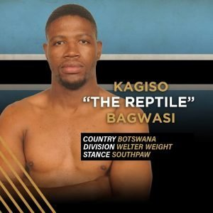 """The Reptile"" Kagiso Bagwasi"