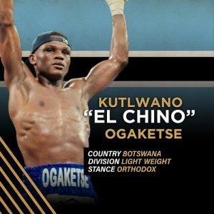 """""""El Chino"""" Kutlwano Ogaketse"""