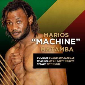 """""""Machine"""" Marios Matamba"""