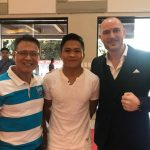 Navy Commander, 8 times IBF World Champ, Jerwin Ancajas and Scott