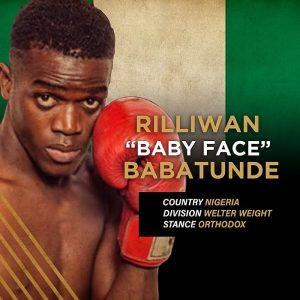 """""""Baby Face"""" Rilliwan Babatunde"""