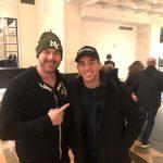 Scott Farrell with Olympic Silver Medalist and Irish Top Rank World contender Michael Conlan