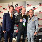 Sean Gibbons, Scott Farrell and Gilberto Mendoza - WBA President