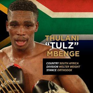 """""""Tulz"""" Thulani Mbenge"""