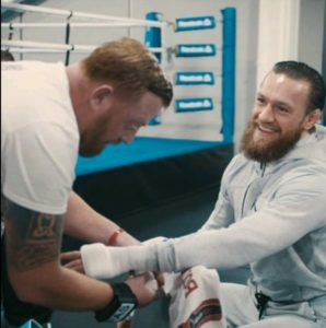 @CutmanIreland - Conor McGregor's cut man and now GBS official cut man